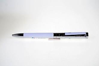 PIERRE CARDIN AURELIE Kovové kuličkové pero s modrou náplní