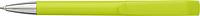 ABRAHAM Kuličkové pero s otočným mechanismem, modrá náplň, světle zelené - psací potřeby