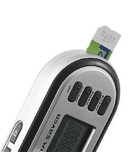 Čtečka SIM karty s přívěskem na klíče