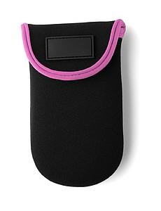 PURDY Pouzdro na mobil, uchycení na ruku, černo růžové