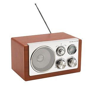 FIDELIO Elegantní AM, FM rádio s dřevěným designem