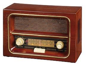 Rádio v retro stylu