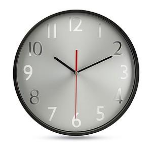 Velké nástěnné hodiny s hliníkovým ciferníkem, bílá