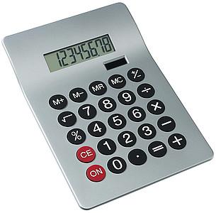 WORMA Stolní stříbrná kalkulačka