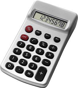 EMIL Kapesní kalkulátor, stříbrný