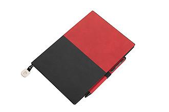 PIERRE CARDIN REPORTER SET poznámkového bloku a kuličkového pera, červená