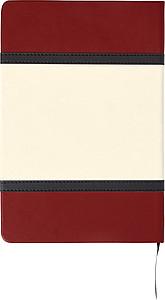 Poznámkový blok A5, 80stran, červená