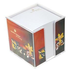 Papírové kostky v plastovém boxu I.