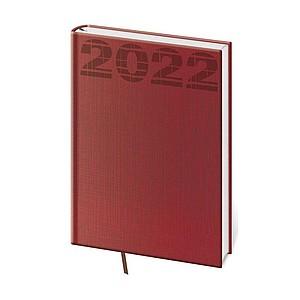 Coco 2021, týdenní diář A5, červený