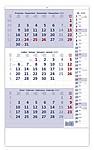 Tříměsíční kalendář s poznámkami, nástěnný