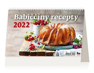 Babiččiny recepty 2021, stolní kalendář