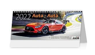 Auta 2021, stolní kalendář