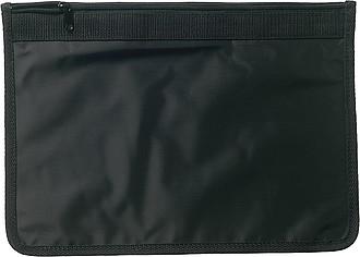 DELEGÁT nylonová taška na dokumenty, černá