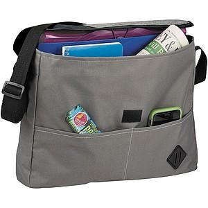 MISHA Konferenční taška s nastavitelným ramenním popruhem, černá