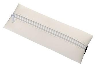 Pouzdro na tužky s upevněním k notebooku, bílá