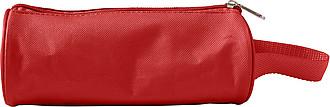 Nylonové pouzdro na psací potřeby, červené