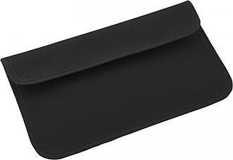 Pouzdro na telefon s blokádou RFID, černá