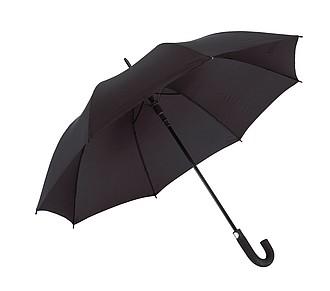 TISSOT Klasický automatický deštník, pr. 119cm, černá - pláštěnky