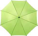 ACHILLE Automatický deštník, světle zelený, rozměry 100 x 89 cm - pláštěnky