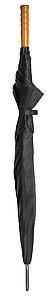 PICASSO Velký golfový deštník, černý, rozměry 130 x 105 cm