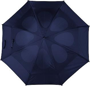 GOGH Deštník, modrý, rozměry 130 x 100 cm