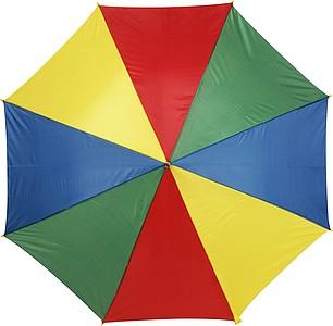 ALLEY Deštník s osmi barevnými panely, rozměry 102 x 84 cm, 4 barvy