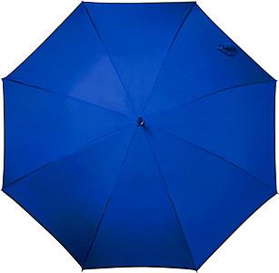 FRIXOS Automatický větruvzdorný deštník, rozměry 100 x 86 cm, modrý - pláštěnky
