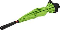 ALMARET Dvouvrstvý deštník, rozměry 105 x 85 cm, černo zelená - pláštěnky