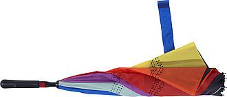 TERAM Vícebarevný dvouvrstvý deštník - parametry 107 x 77 cm - pláštěnky