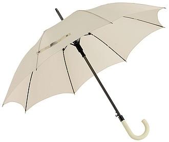 AMADEUS Automatický holový deštník, pr. 103cm, béžová - reklamní deštníky
