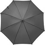 AUBARO Krátký deštník, pr. 94cm, černý