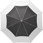 MARONDER Velký klasický deštní, pr. 122cm, černo bílý
