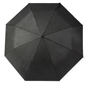 COHEN Skládací deštník, černá, rozměry 95 x 58 cm - reklamní deštníky