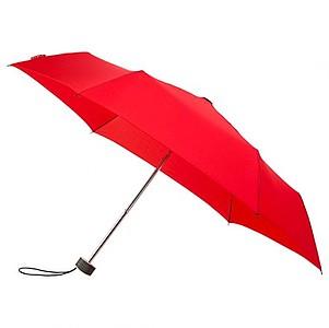BESIR Skládací ultra lehký deštník s odlehčenou konstrukcí, červená - reklamní deštníky
