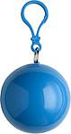 BALERÍNA Pláštěnka v přívěšku s karabinou, modrá - pláštěnky