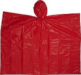 RAFAELO Pončo pláštěnka v obalu, materiál PEVA, červená - pláštěnky