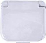 SARDINO Malé cestovní šitíčko v plastové krabičce, bílé ručníky s potiskem