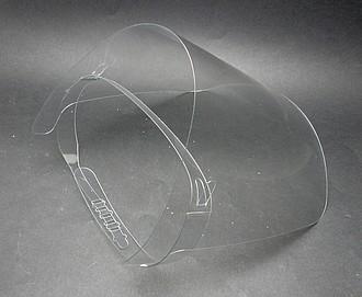 Ochranný obličejový plastový štít ručníky s potiskem