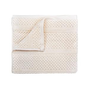 SPRING Set luxusních ručníků se zdobeným vetkáváním 60x110 a 30x50 cm, 600g, lososová ručníky s potiskem