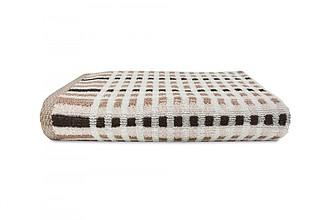 AUTUMN Set luxusních ručníků se zdobeným vetkáváním 60x110 a 30x50 cm, 600g, hnědá