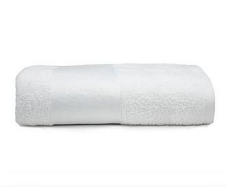froté sportovní ručník pro sublimaci 30x130 cm, 400g, bílá