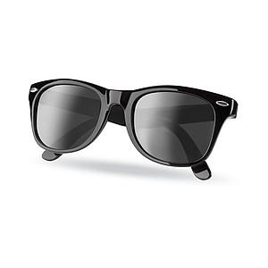 AMERICA Klasické sluneční brýle s UV400 ochranou, černá
