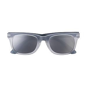 FINGO Plastové sluneční brýle s UV-400 ochranou, černé