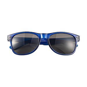 DARUS Akrylové sluneční brýle s UV400ochranou, modrá
