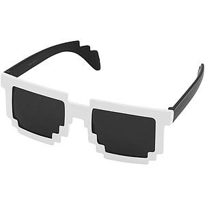 PIXEL Sluneční brýle Pixel, černá/bílá
