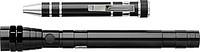 REDMAN Sada teleskopické baterky a malého nářadí, černá