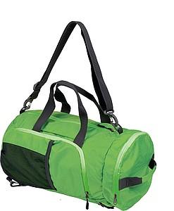 SCHWARZWOLF BRENTA skládací taška/batoh, zelená