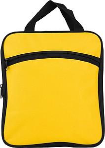 VALMEZ Skládací cestovní taška s bočními kapsami, žlutá