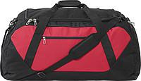 HELARA Velká sportovní cestovní taška, černá/červená