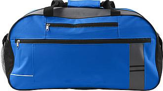 Cestovní taška s reflexním pruhem, modrá